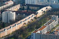 houses, Germany, Bavaria, Munich