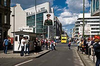 Germany, Berlin, Checkpoint Charlie