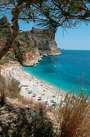 Cala Moraig Beach near Moraira, Costa Blanca, Spain, Europe