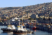 historical harbour city of Valparaiso, Chile