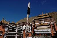 Tashilunpo Monastery, Shagatse, Tibet, China, Asia