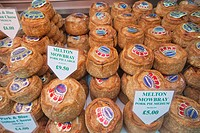 England, London, Southwark, Borough Market, Food Stall, Pork Pies
