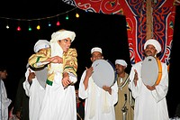 Dervish dancers, Sufis, Giza, Egypt, North Africa, Africa