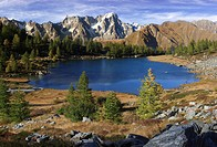 The Arpy Lake is a glacial lake placed at the center of a beautiful plateau at more than 2000 meters of altitude in Valdigne, one of the many side val...