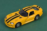 Close_up of a toy car