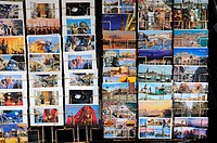 Postcards, Venice, Veneto, Italy, Europe