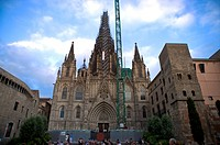 Spain, Catalonia, Barcelona, Barcelona Cathedral