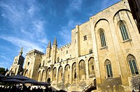 France, Provence, Avignon, Pope's Palace