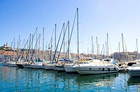 Vieux Port in Marseille, Provence-Alpes-Cote d'Azur, France (thumbnail)