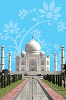 India, Taj Mahal, UNESCO, World Cultural Heritage (thumbnail)