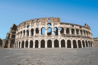 Italy, Rome, Antique Roman amphitheater's, Capital Cities, UNESCO, World Cultural Heritage (thumbnail)