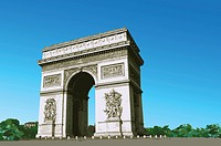 France, Paris, Arc de Triomphe, Capital Cities