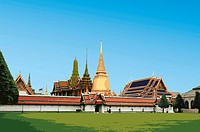 Thailand, Bangkok, Grand Palace, Capital Cities