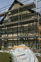 Renovation of a half_timbered house, Hessenpark, Neu_Anspach, Taunus, Hesse, Germany