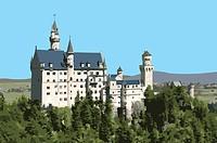 Germany, Neuschwanstein Castle