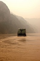 China, Yangtze River, Three Gorges, Xiling Gorge