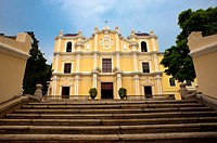 China, Macou, St. Joseph's Seminary, UNESCO, World Cultural Heritage