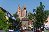 church St. Stephan, landmark of the town, Germany, Baden_Wuerttemberg, Breisach