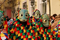 Swabian Fastnacht (carnival), Lindau, Allgaeu, Bavaria, Germany