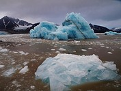 iceberg, Norway, Svalbard, Liefdefjorden