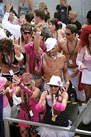 Loveparade 2007 in Essen, North Rhine-Westphalia, Germany