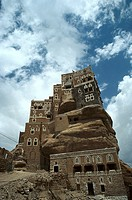 Royal Palace in Wadi Dhar, Imam palace, Wadi Daar, Highlands, Yemen