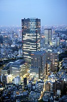 Japan, Tokyo: Tokyo Midtown complex, Tokyo Midtown Tower with hotel The Ritz Carlton