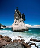 new zealand Coromandel cathedral cave rock