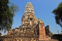 Wat Ratchaburana, Ayutthaya, Thailand, Asia