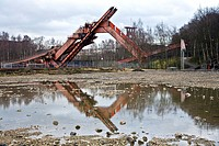 coal digger of coal mine Zollverein in Essen Katernberg, Germany, North Rhine_Westphalia, Ruhr Area, Essen