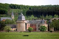 Lavaux_Ste_Anne castle, Belgium