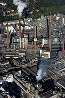 Henkel plant, chemical factory, Duesseldorf, North Rhine-Westphalia, Germany