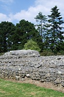 The tumulus / burial mound of Er Grah, Locmariaquer, Brittany, France