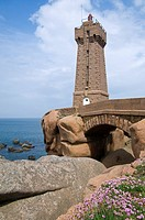 Lighthouse at Ploumanac'h, Brittany, France