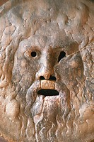 Bocca della Verita, the Mouth of Truth, Italy, Santa Maria in Cosmedin, Rome