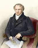 Alexander von Humboldt 1769_1859, German naturalist and geographer. At 27, Humboldt inherited enough money to plan an expedition with botanist Aime Bo...