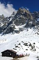 Plan de l'Aiguille Chamonix Haute-Savoie France
