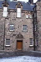 En el Castillo de Edimburgo, Escocia - UK.