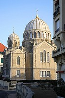 Russian Othodox Church, Biarritz, Aquitaine, Pyrenees Atlantiques, France