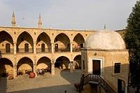 Bueyuek Han, large caravanserai, Nicosia, Cyprus, Greece, Europe