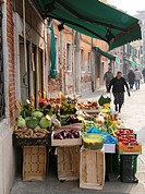 vegetable shop in Venice, Italy, Venice
