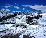 Col du Galiibier, snow in summer, France, Alps