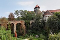 Burg Schlaining castle in Stadtschlaining, Burgenland, Austria, Europe