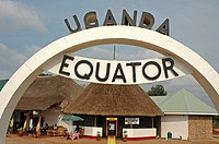 Equator line marker  Uganda