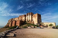 Mehrangarh Fort, Jodhpur is one of the largest forts in forts and is also considered to be the most magnificent fort in Jodhpur, infact, in the whole ...