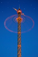 The Star Flyer in Tivoli, Copenhagen, Denmark