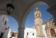 Church of Saint Mary the Crowned in Medina Sidonia ,  Cadiz , Andalusia , Spain