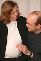 Woman to be pregnat with partner