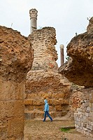 Antonine baths. Cartago. Tunisia. Africa.