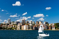 Skyline of Milson's Point Sydney Australia